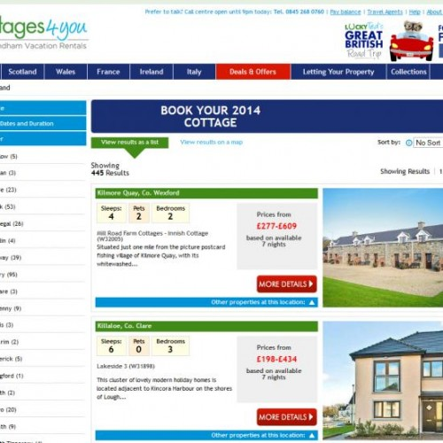 Irish Holiday Homes Wanted – Special Promotion