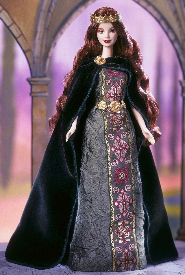Barbie Dolls Of The World Princess Irish Barbies – Now ...