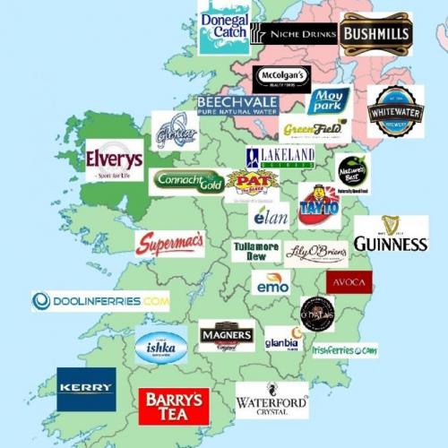 Brands of Ireland