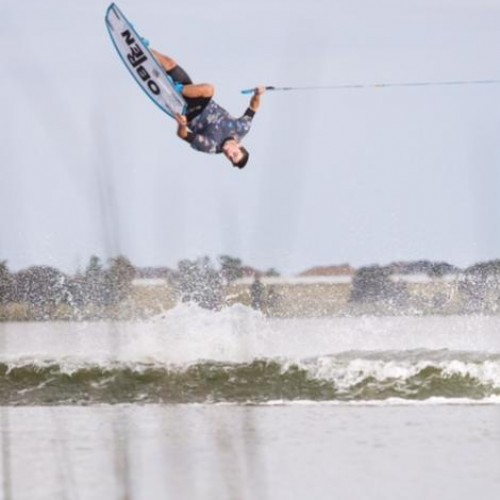 Irish Wakeboarder Takes Gold