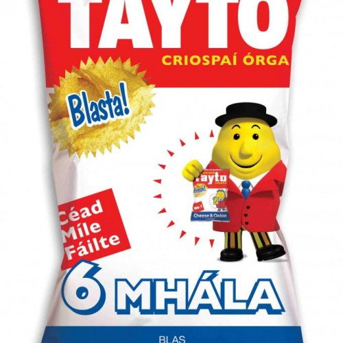SPEAK IRISH? NO? THEN YOU CAN'T HAVE THESE CRISPS.
