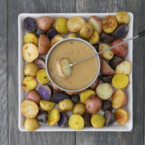 Celebrate St. Patrick's Day with Irish Potato Fondue