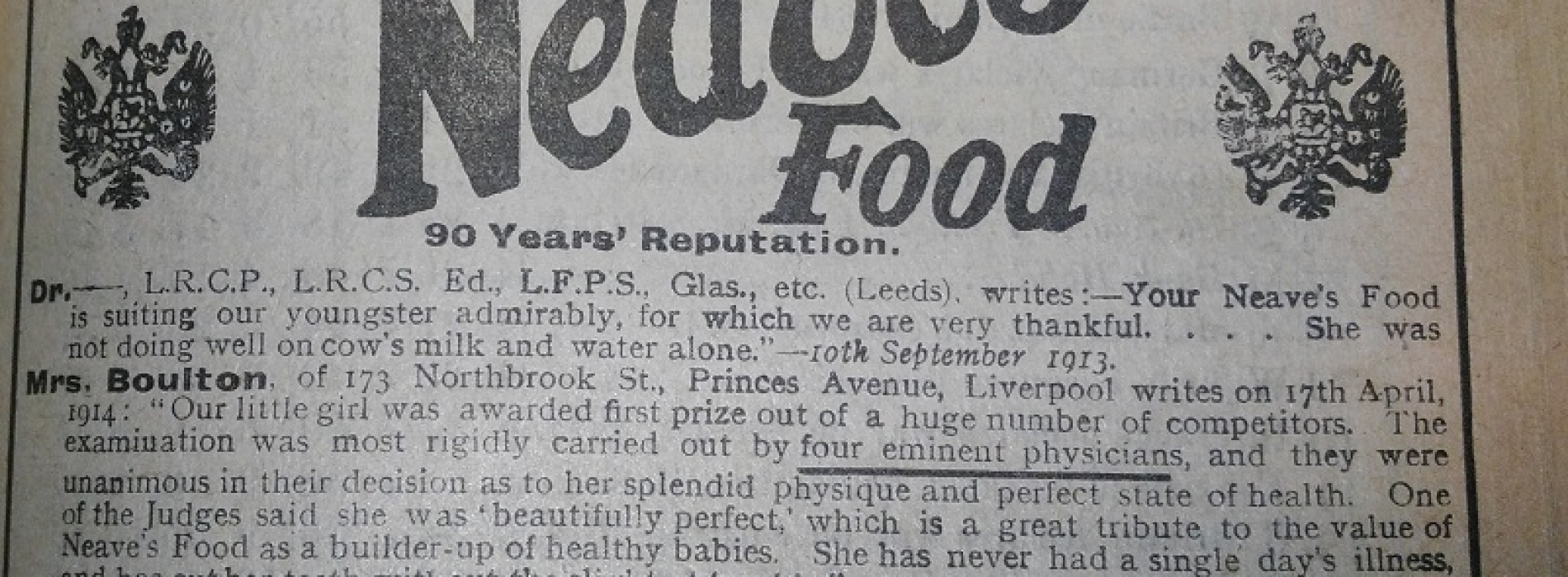 The Horribly Misleading (And Dangerous) Advertising of 1916