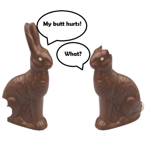 How do you eat Your Chocolate Bunny? Vast Majority Prefer to Start With the Ears.