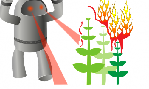 Combatting Weeds with a Laser-Firing Robot