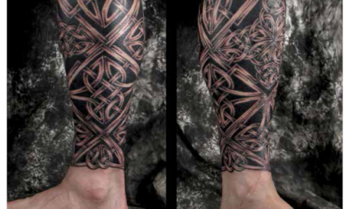 The International Rise of the Irish Tribal Tattoo