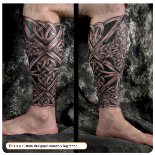 The International Rise of the Irish Tribal Tattoo