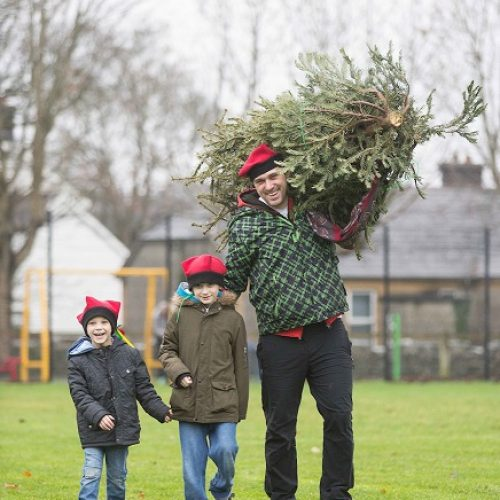 Get Ready for the Christmas Tree Throwing Championship 2018