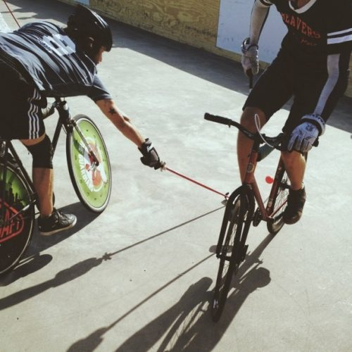 Looking for a Different Way to Work Out? Try the Irish Sport of Bike Polo!