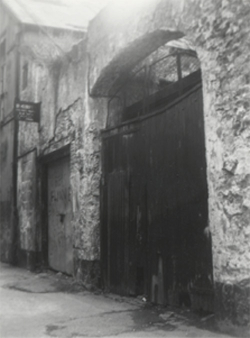 Old building with large stable doors
