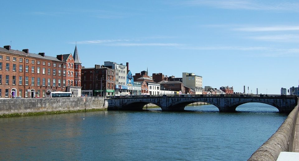 The River Lee in Cork City