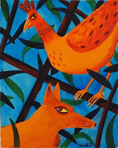 thefox and the hen