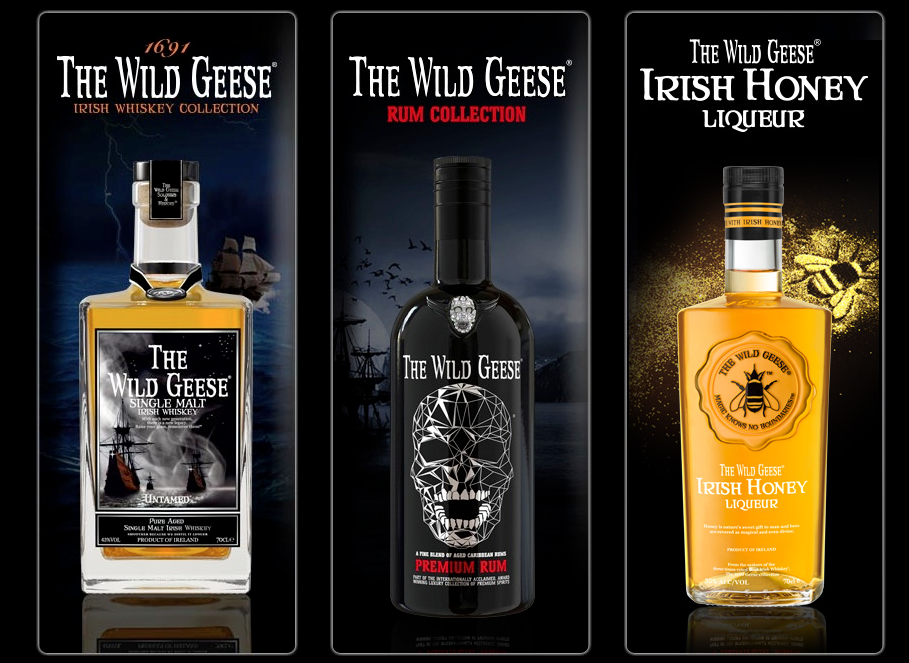 wild geese rum ad