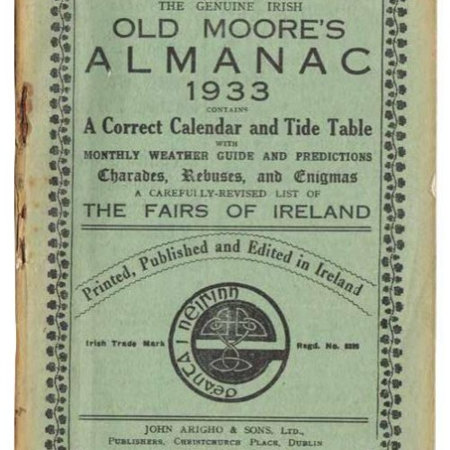 The Old Moore's Almanac 1933 Edition – It Certainly Held Some Treasures