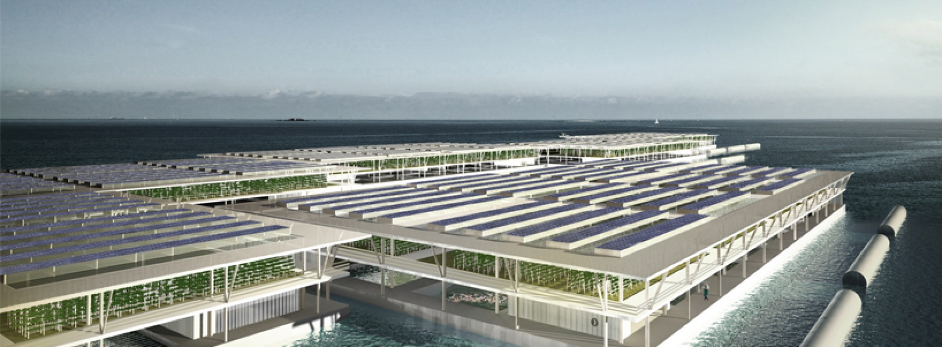 Lack of Farmland? Welcome to the Floating Farm