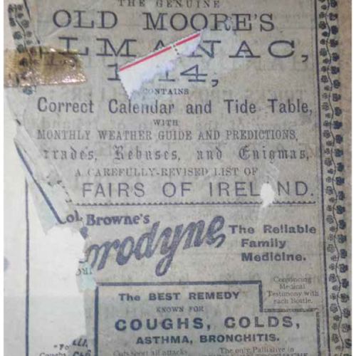 Old Moore's Almanac of 1914: Free Land in Canada, Tragic Shipwrecks and Women's Rights