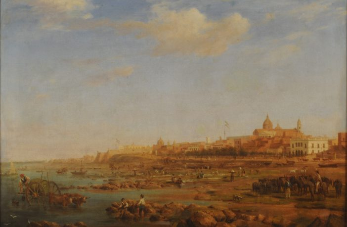 Painting of Buenos Aires by Richard Adams (1832)