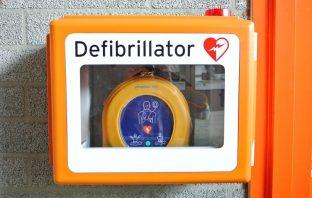 portable defibrillator