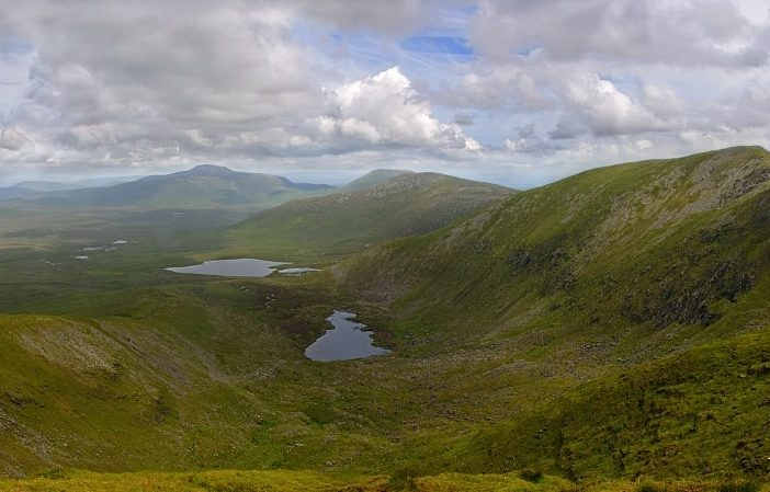off the beaten track in ireland - a deserted vally at Ballycroy National Park
