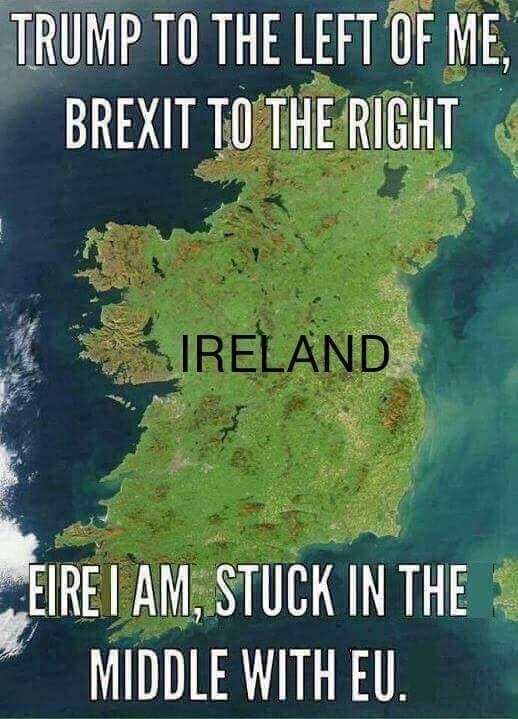 Ireland meme - picture of Ireland