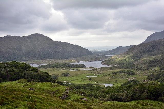 Irish landscape scene