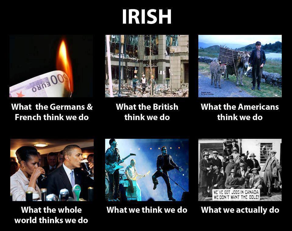 Irish stereotypes meme