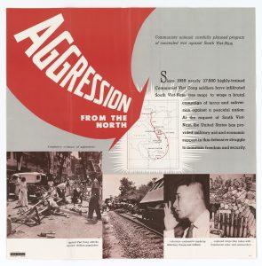 Vietnam war propaganda poster