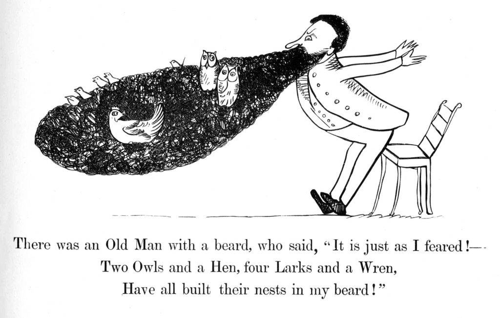 illustrated children#s poem by Edward Lear