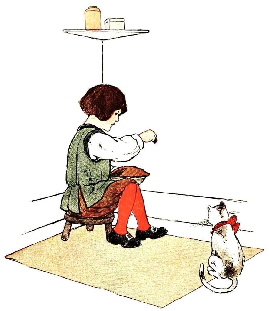 illustration of little jack horner