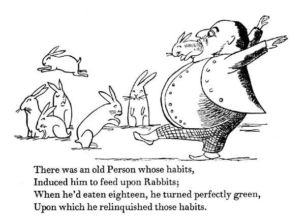 illustrated children's poem by Edward Lear