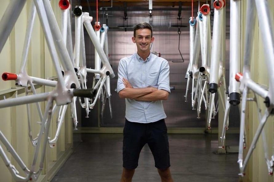 eBike entrepreneur Jack O'Sullivan