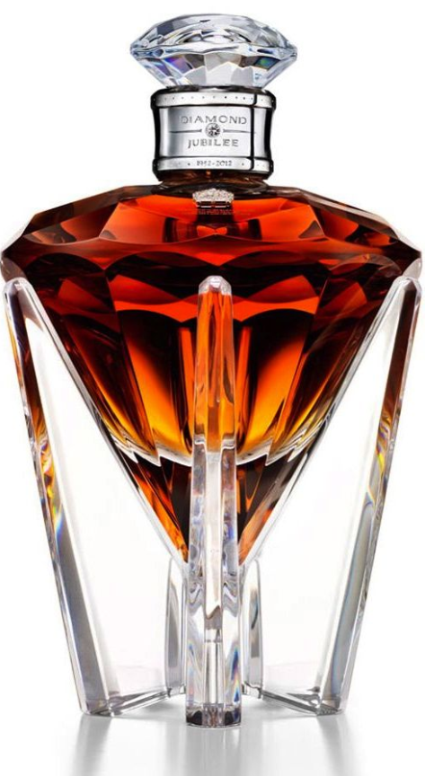 One of the world's most expensive whiskey bottles