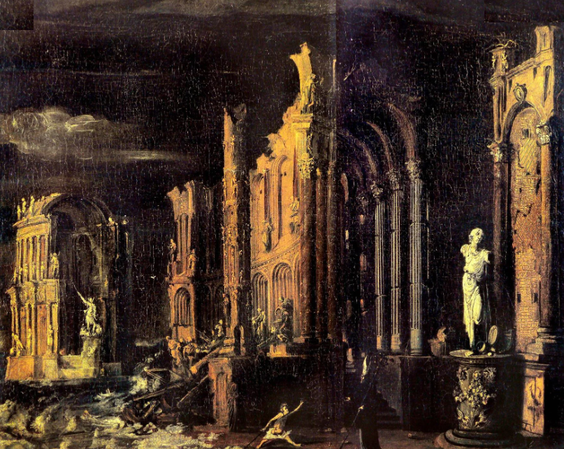 The Fall of Atlantis by François de Nomé